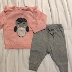 Baby Gap owl outfit